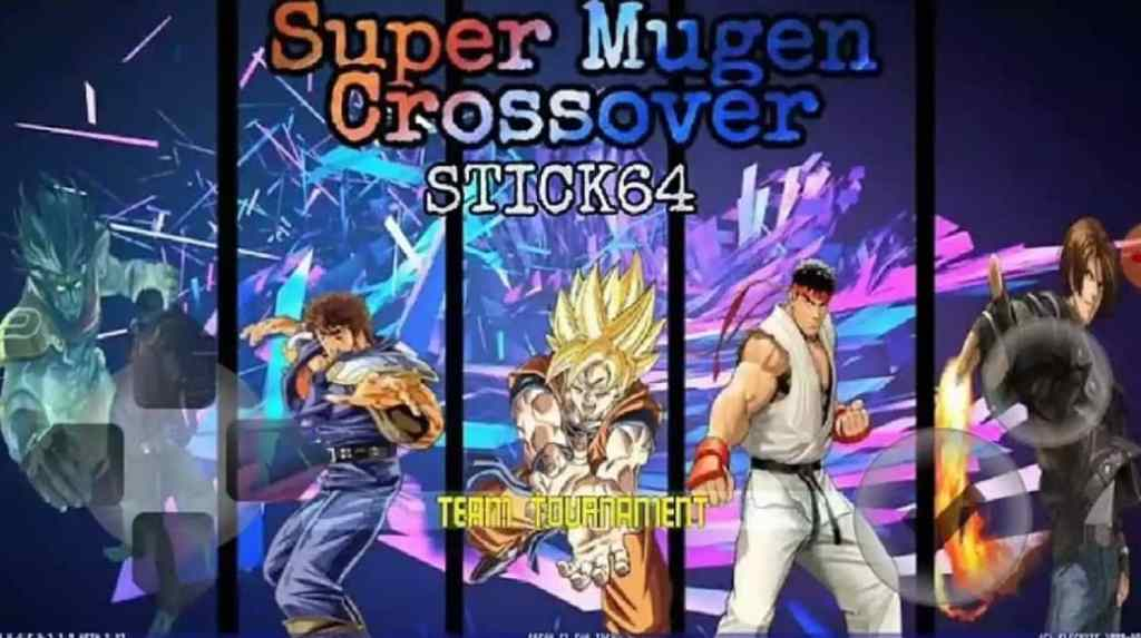 DBZ Anime Crossover Mugen Apk Download for Android