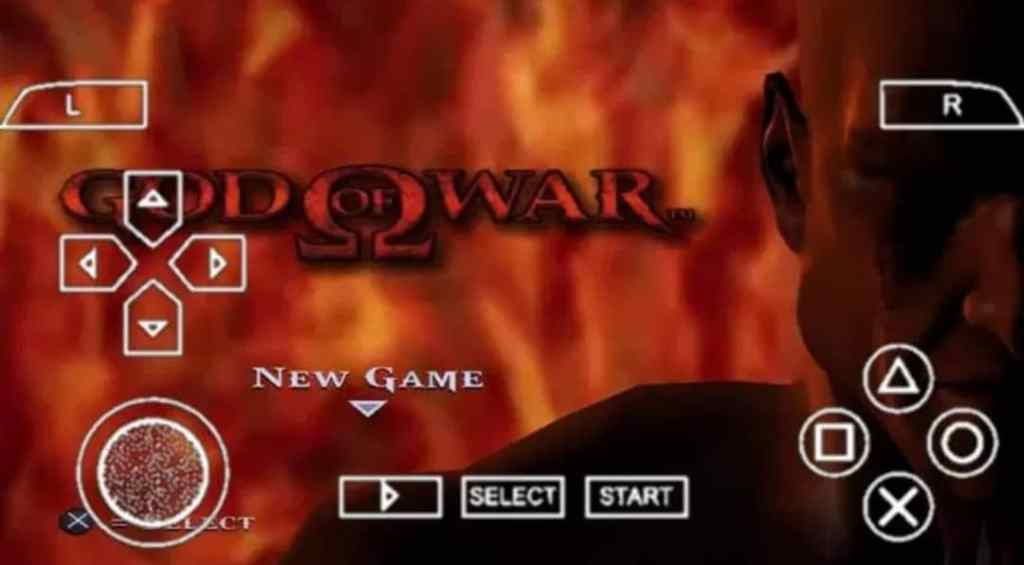 God of War 1 PPSSPP Android Download