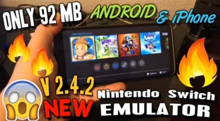 Nintendo Switch Emulator Download for Android/iOS