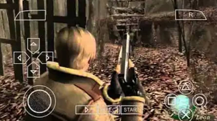About Resident Evil 4 PSP