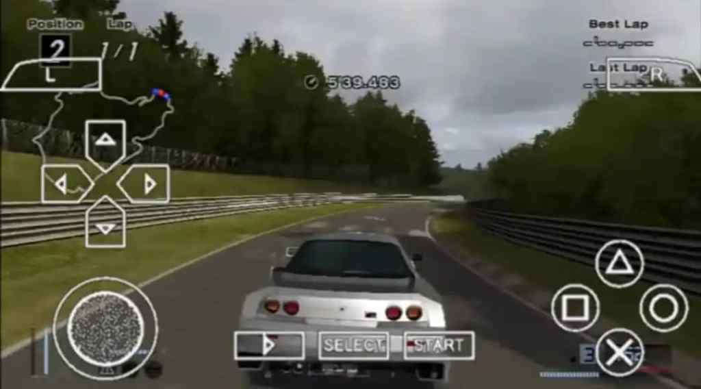 Gran Turismo 4 PPSSPP ISO