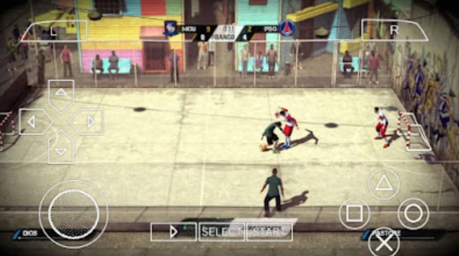 About FIFA Street 4 PPSSPP