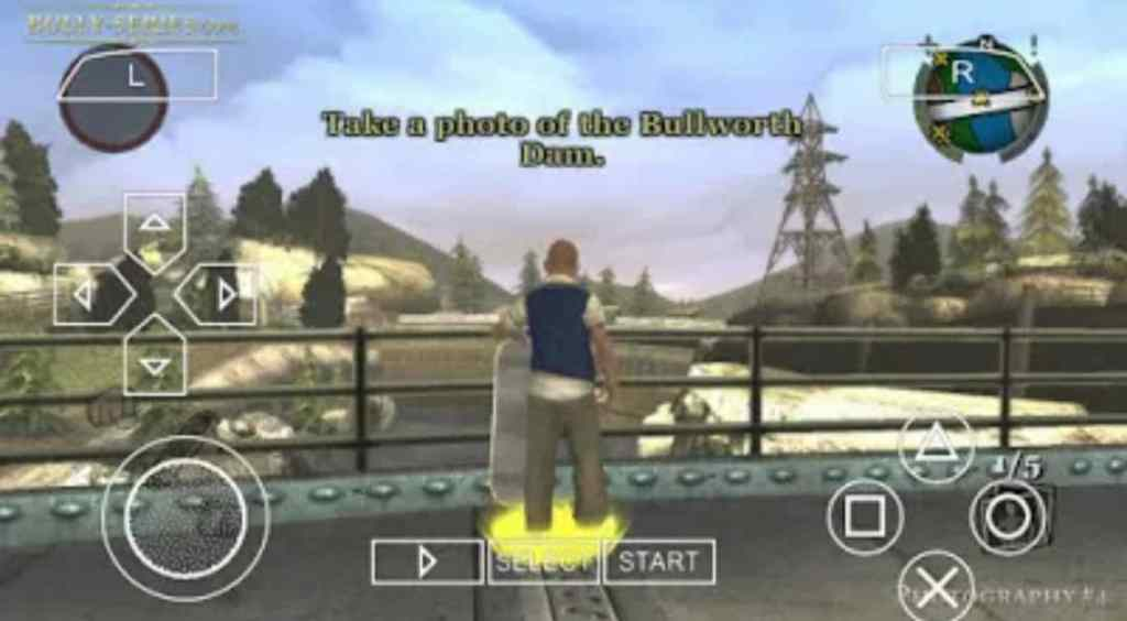 Features of Bully PPSSPP ISO