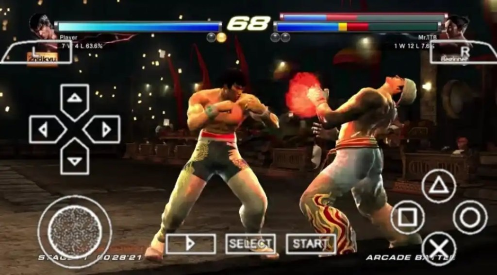 Features of Tekken Tag Tournament 2 PPSSPP