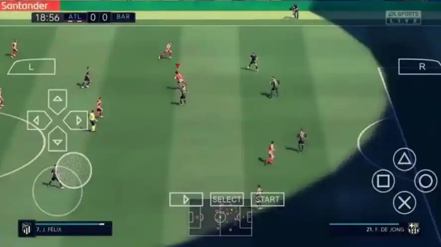 Features of FIFA 22 PPSSPP File