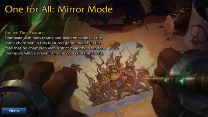 LoL One For All Mirror Mode