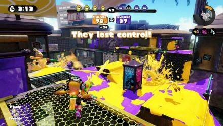 Splat Zones gameplay