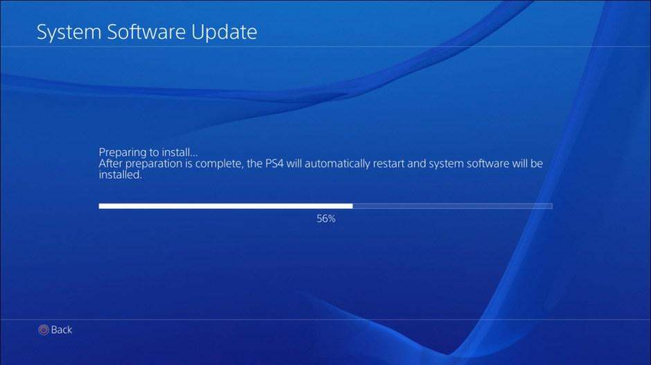 firmware update ps4