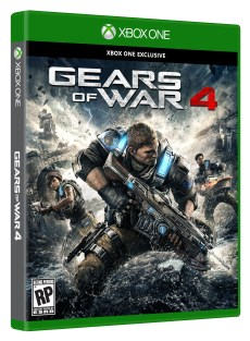 Gears of War 4 Standard Edition Box Shot Right Angle