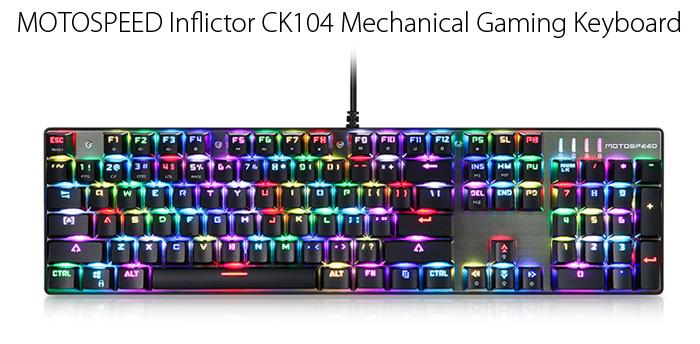 Ώρα για hardware| Motospeed Inflictor CK104 | Gearbest