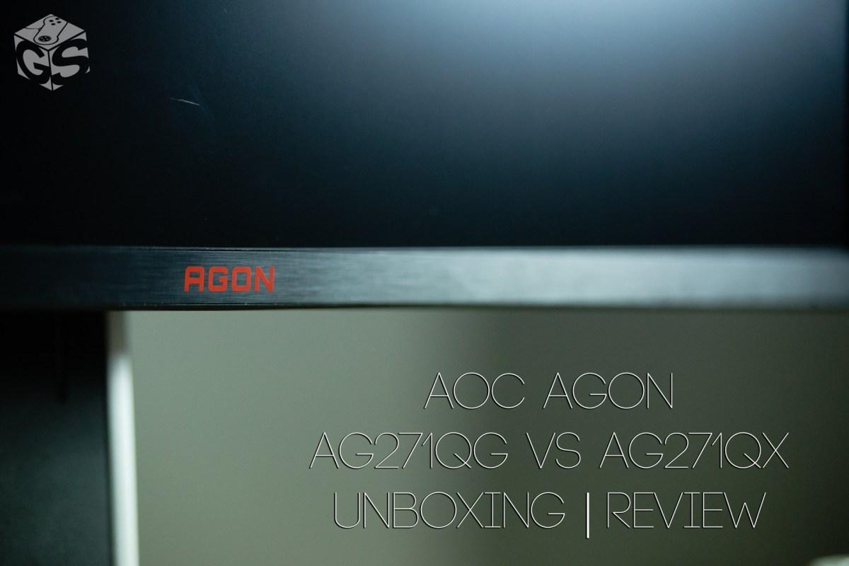Μάχη στις 27 ίντσες | AG271QG vs AG271QX | AOC AGON