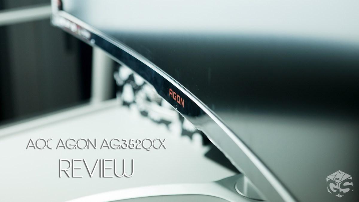 Μας αρέσουν οι «καμπύλες» | AOC AGON AG352QCX 200Hz Review