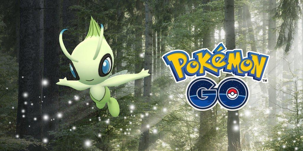 Έρχεται το Celebi στο Pokemon Go!
