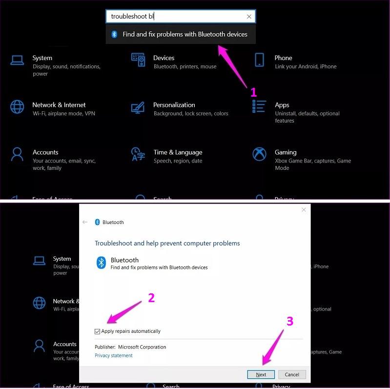 Så här fixar du inaktivera Bluetooth i Windows 10