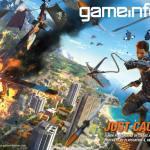 『Just Cause 3』正式発表!Game Informerの表紙を飾る!