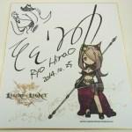 『レジェンドオブレガシー』キャラクターデザイン平尾リョウ氏のサイン入り色紙が当たるTwitterキャンペーンがスタート