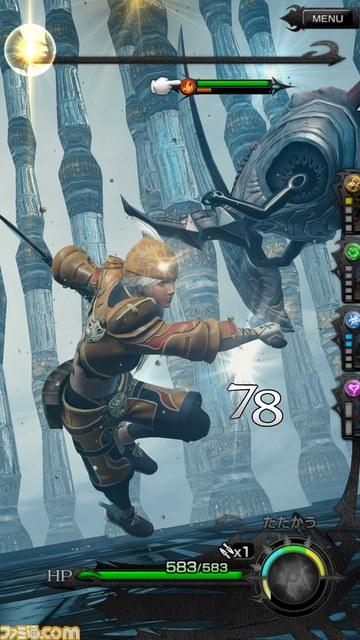 『メビウスファイナルファンタジー』最新スクリーンショットが公開!