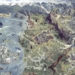 これを眺めてワクワクしよう!『ウィッチャー3』カラーで細かく描かれたワールドマップが公開