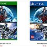 PS4/XB1版『Bayonetta & Vanquish Pack』11月発売か。イギリス小売店が掲載[更新:掲載店追記]