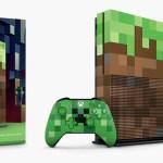 マイクラ仕様にカスタムされた「Xbox One S 1TB Minecraft リミテッドエディション」10月5日に発売決定!クリーパー&ブタをイメージしてデザインされたコントローラの単品販売も