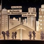 「Bethesda E3 2018 Showcase」6月10日に開催決定!