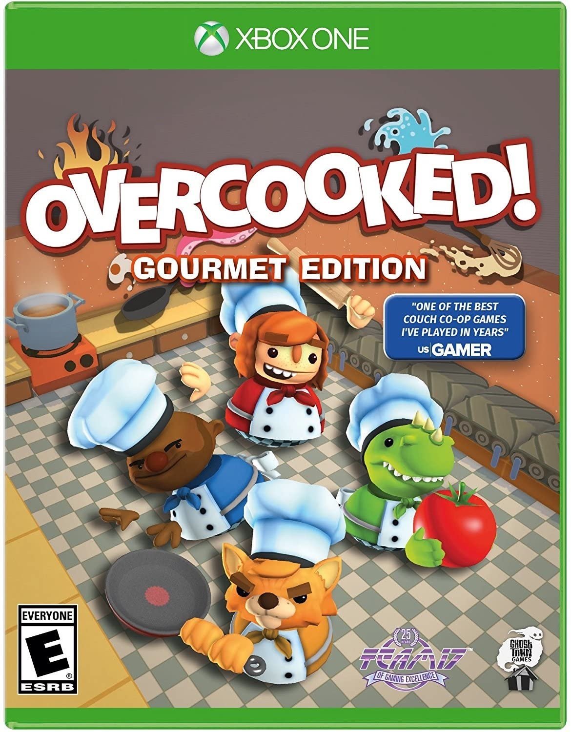 Rent Overcooked Gourmet Edition Xbox One Game Games To Go