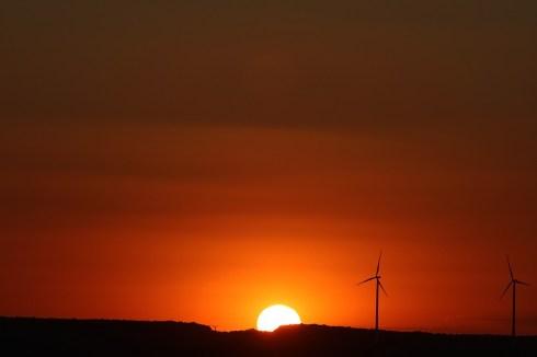 nachts das Handy weglegen. Blaulicht. Sonnenuntergang und rotes Licht