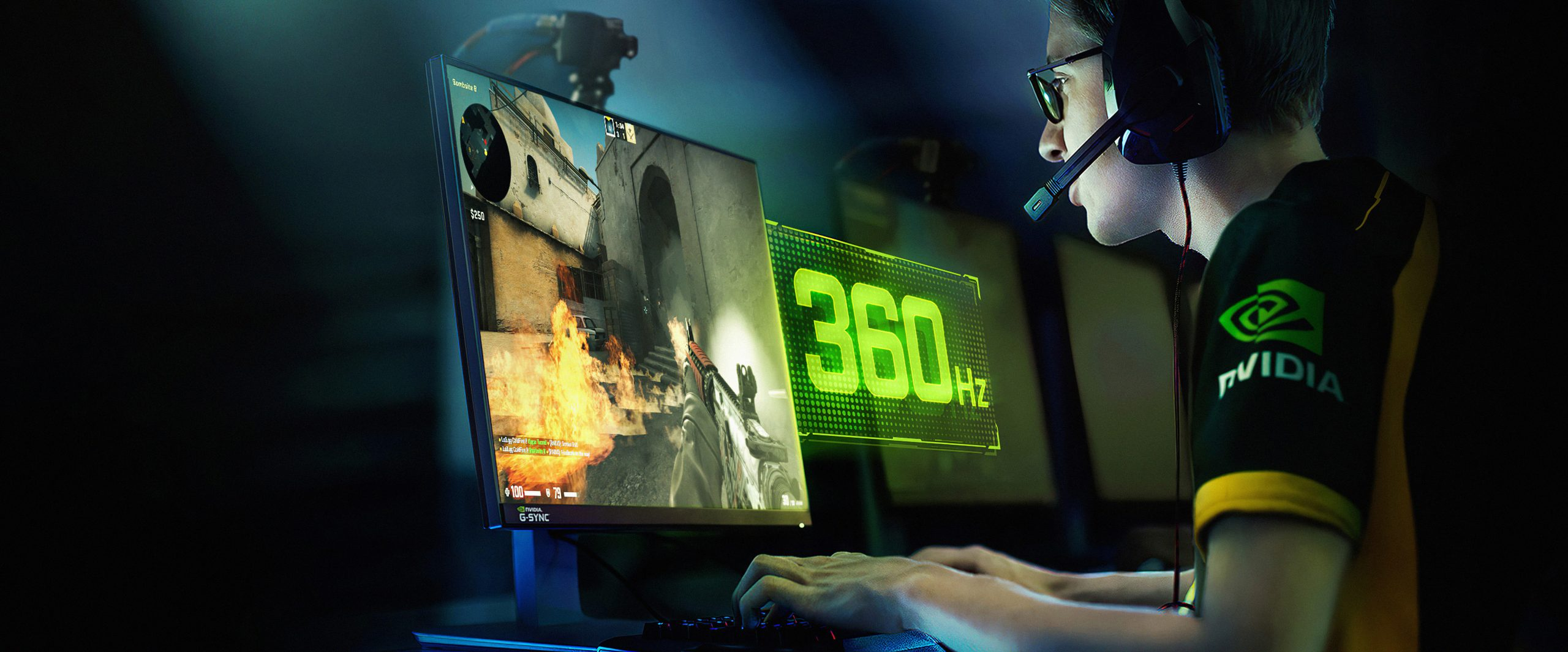 Breakthrough 360Hz Design For Competitive Gamers; 6X Faster Than Traditional Displays NVIDIA Corp.