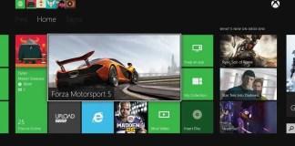 Dashboard Xbox One
