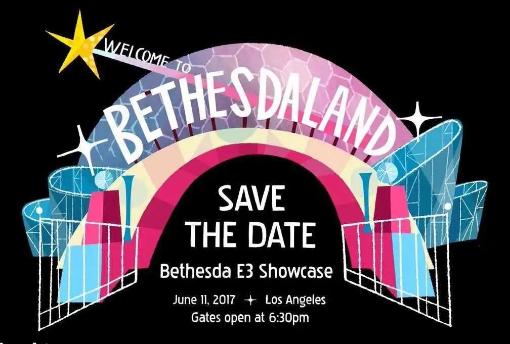 E3 2017: Bethesda pubblica un artwork per pubblicizzare la propria conferenza
