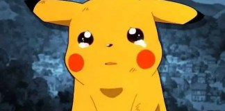 pikachu piange
