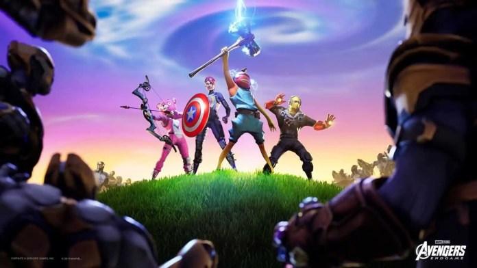 Fortnite Avengers Endgame 3