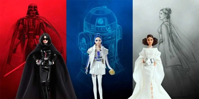 Barbie di Star Wars