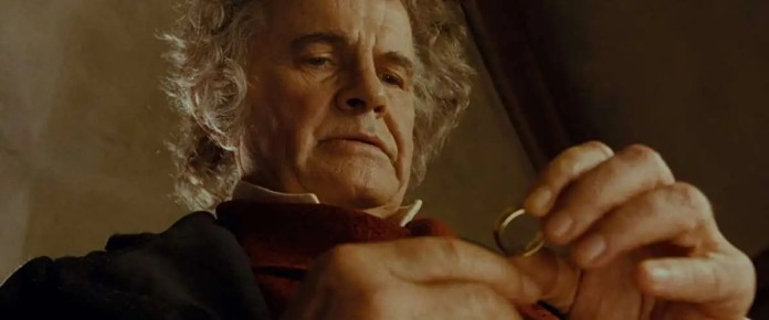 Bilbo Baggins Ian Holm