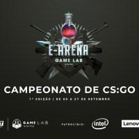 """Campeonato de CS:GO """"E-Arena Game Lab"""" chega à fase final neste fim de semana"""