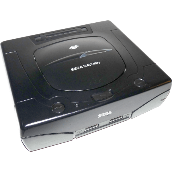 sega saturn top front view gametrog