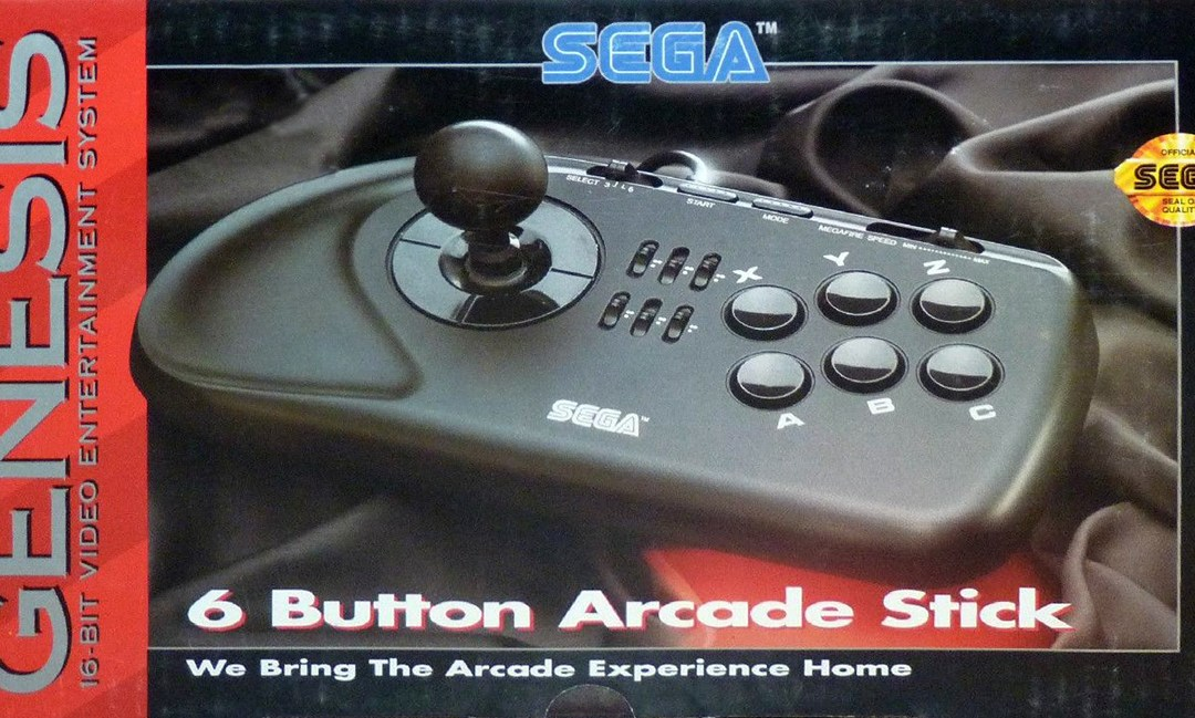 SEGA Genesis 6-Button Arcade Stick