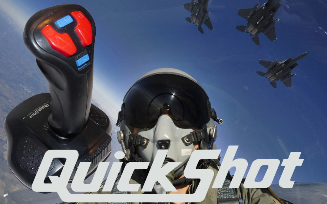 QuickShot Eagle Flight Stick Controller – SEGA Genesis