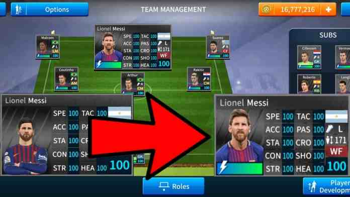 How to import Real Messi Face in Dream League Soccer 2019