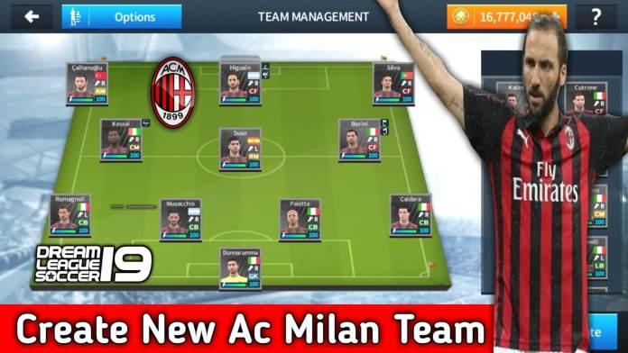 Ac Milan Team Dls