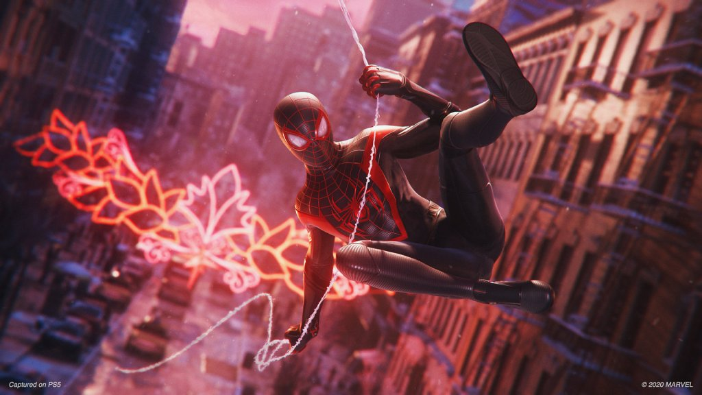 Top 5 Games for PlayStation 5 in 2021   Spiderman Miles Morales