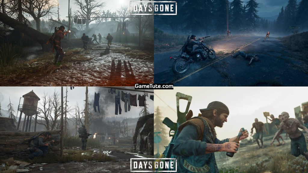 Days Gone - Best Zombie Games for PS4. Latest Top Rated List for PlayStation 4