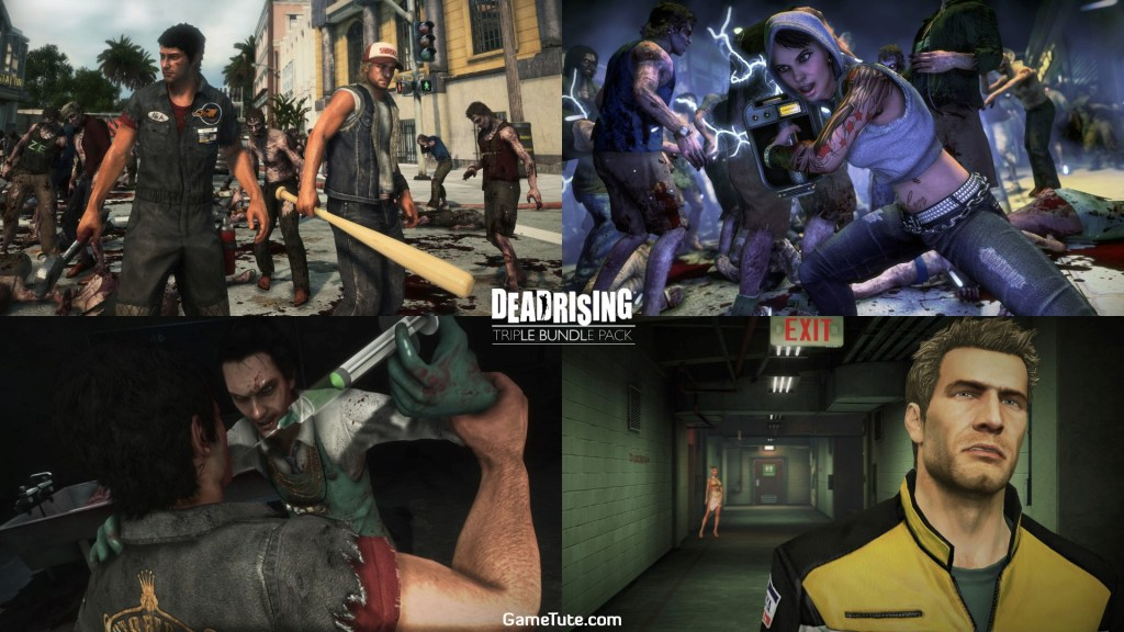 Dead Rising Triple Bundle Pack - Best Zombie Games for PS4. Latest Top Rated List for PlayStation 4