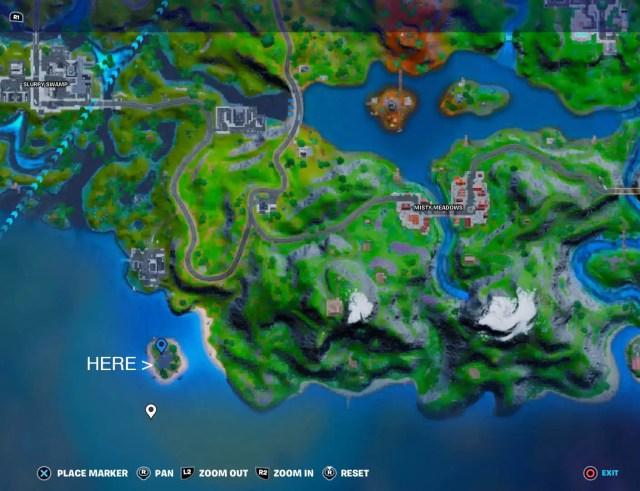 Isla Nublada / Orelia Location - Fortnite Season 6 Chapter 2