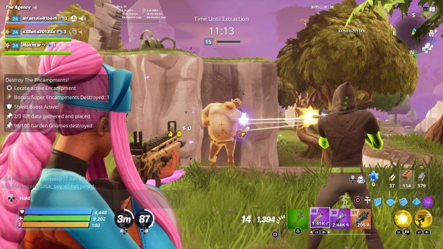Fighting Husks in Fortnite Save The World