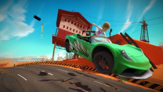 Point Review Joy Ride Turbo Xbox 360 Game Usagi