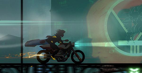 バイクにのるRed