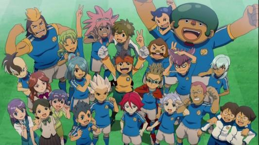 Inazuma Eleven Gruppenbild