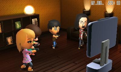 Wii U Party! In Tomodachi Life dürfen eure Miis auch mit der Wii U zocken!