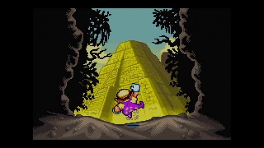 Wario Land 4 Pyramide